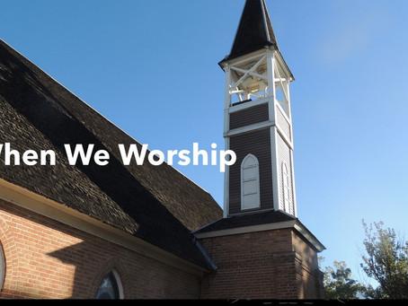 When We Worship