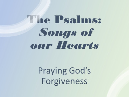 Praying God's Forgiveness