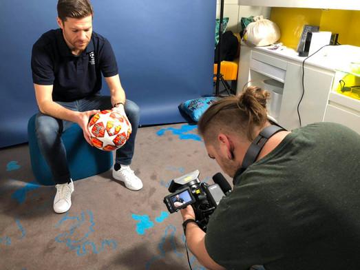 Champions League Interview