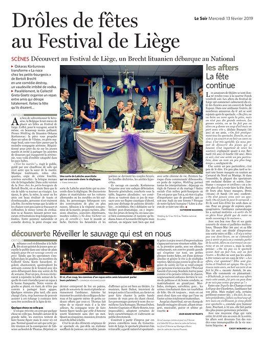 LE SOIR 13.02_WEDDING_ON EST SAUVAGE_AFT