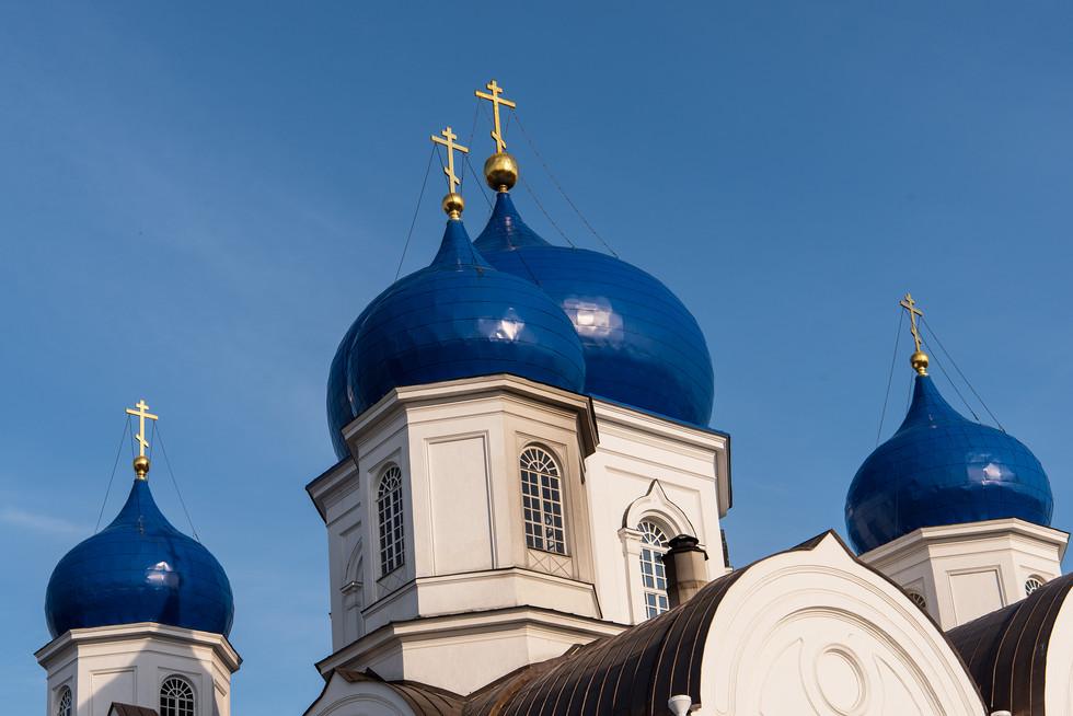 женский православный монастырь в посёлке Боголюбово Суздальского района Владимирской области