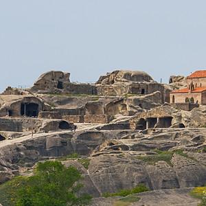 Уплисцихе - древний пещерный город