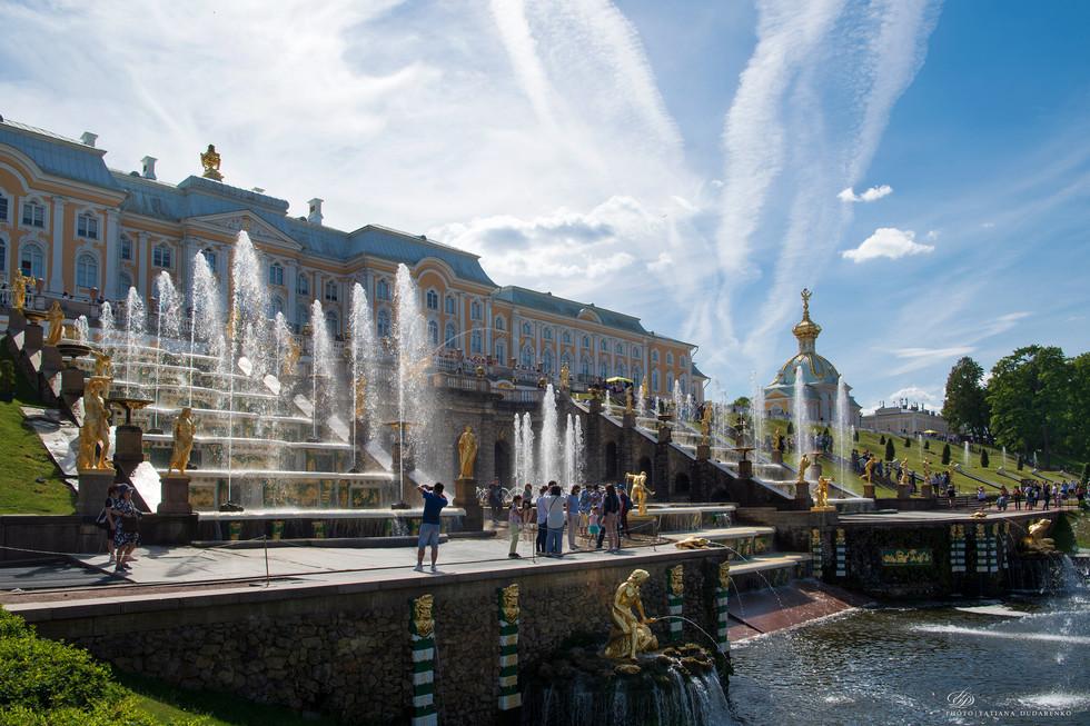 фонтан Большой каскад