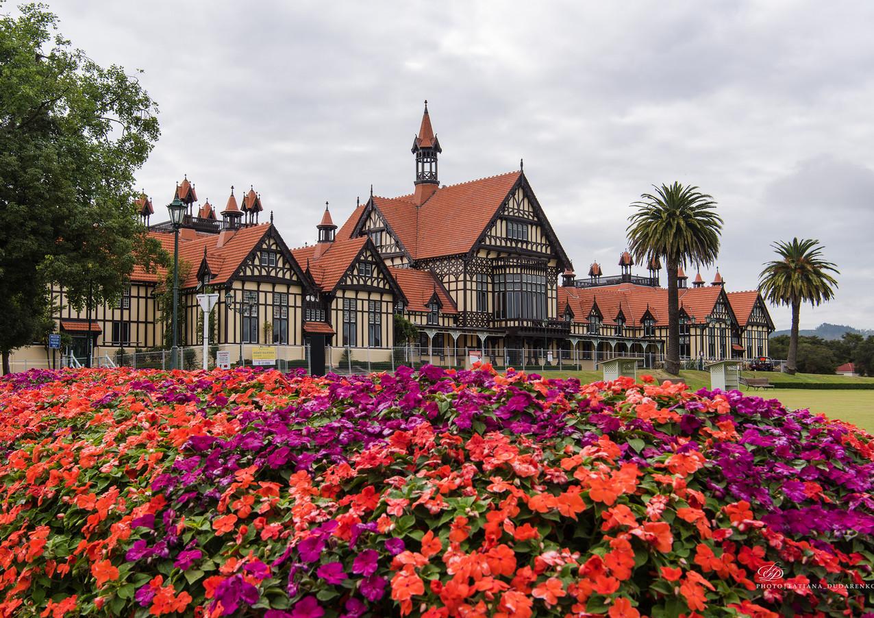 Новая Зеландия. Роторуа