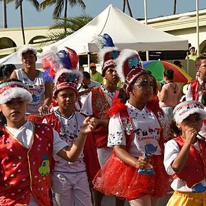 Аруба. Карибский детский карнавал