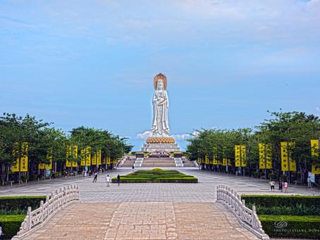 Наньшань - место притяжения всех буддистов.