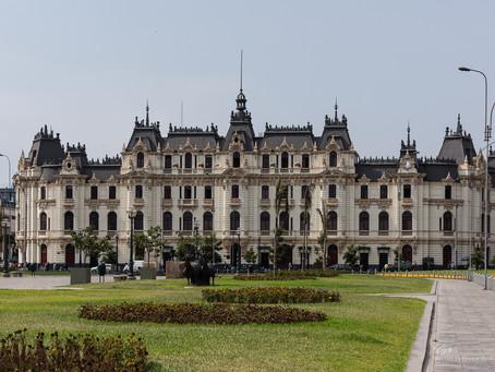 Лима - королевский город. Перу.