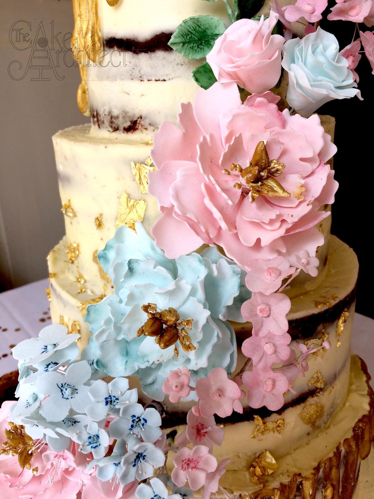 Bespoke wedding and celebration cakes | Wiltshire | The Cake Architect