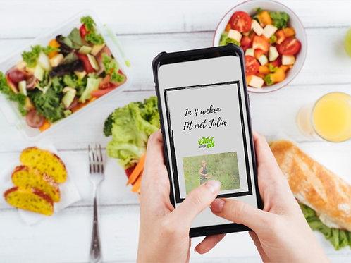 E-Book: In 4 weken fit met Julia