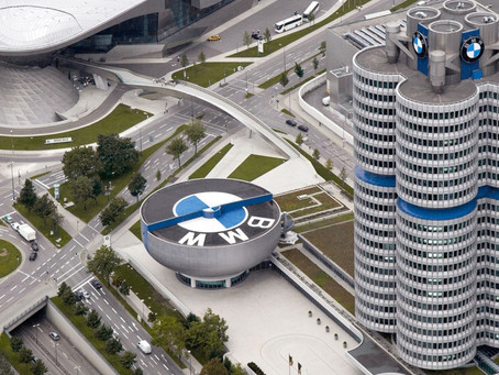 Students got offered a day out with lunch at the BMW Headquarters