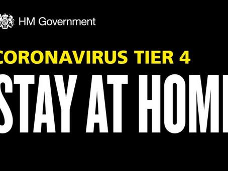 Having Hope in Tier 4 of Coronavirus