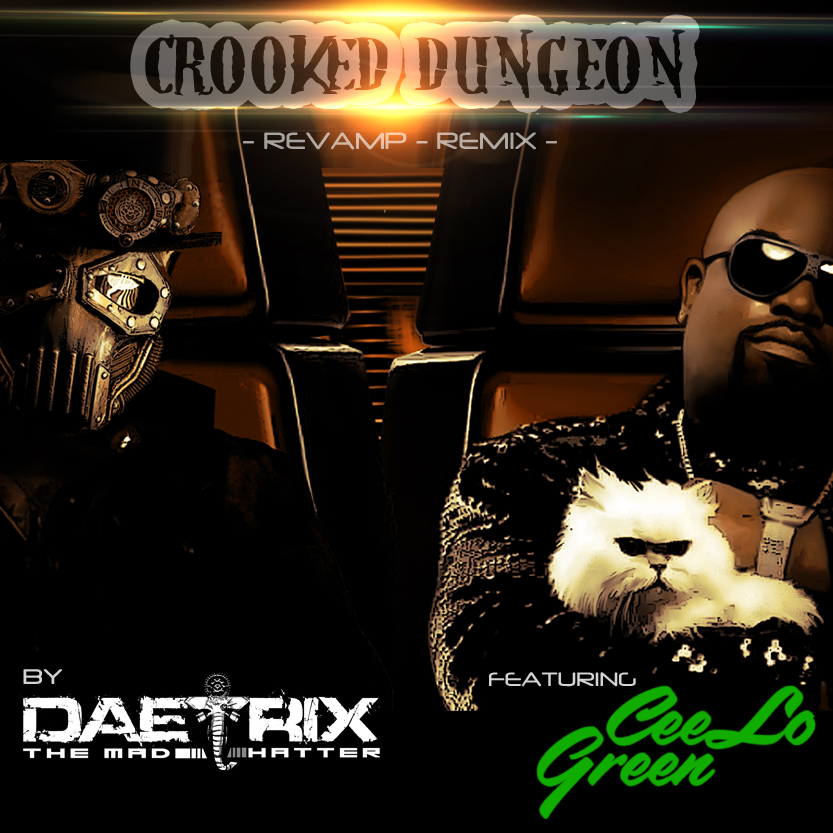 cROOKED DUNGEON CD COVER