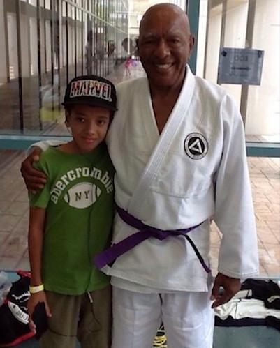 Ron Van Clief and Grandson 2.JPG