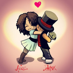 DAE AND FAY FLOWER HUG