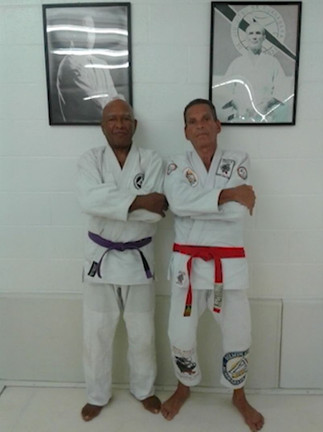 Master Van Clief and Master Relson Graci