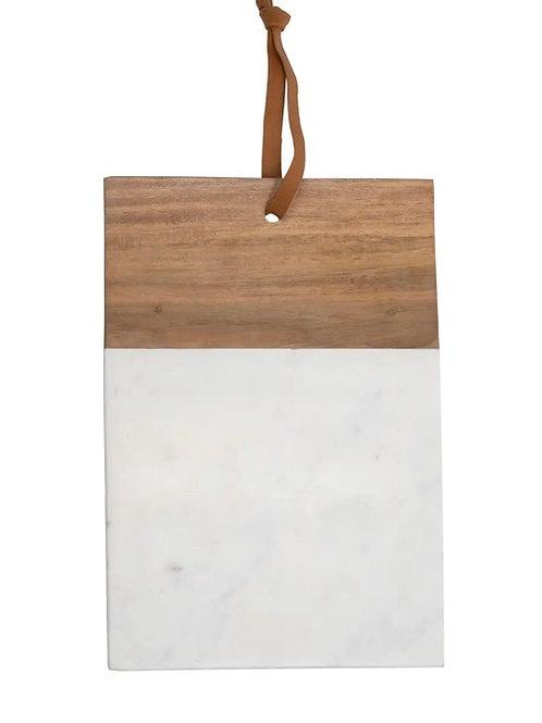 Wood & marble board