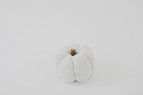 Fabric Pumpkin - Herringbone