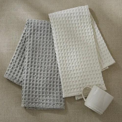 Sterling waffle tea towel