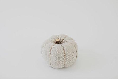 Fabric Pumpkin - Natural