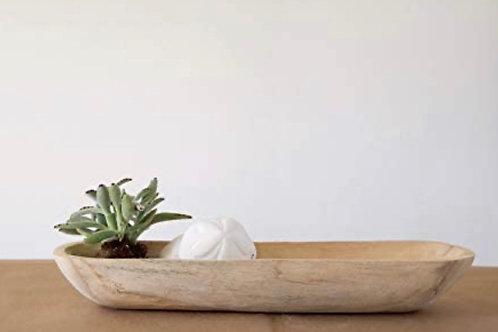 Paulownia bowl
