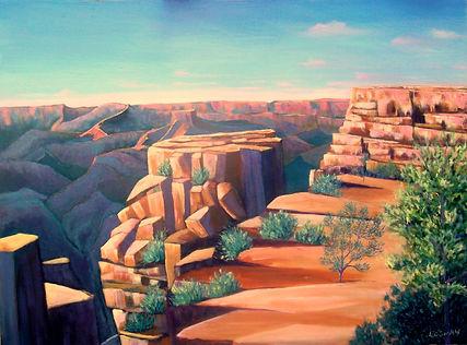 Grand Canyon-South Rim, Arizona18x24 Oil