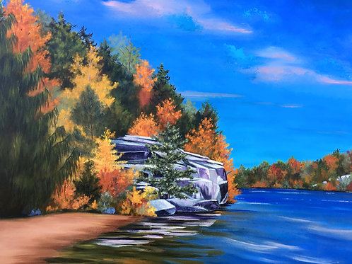 Autumn at Minnewaska S.P.