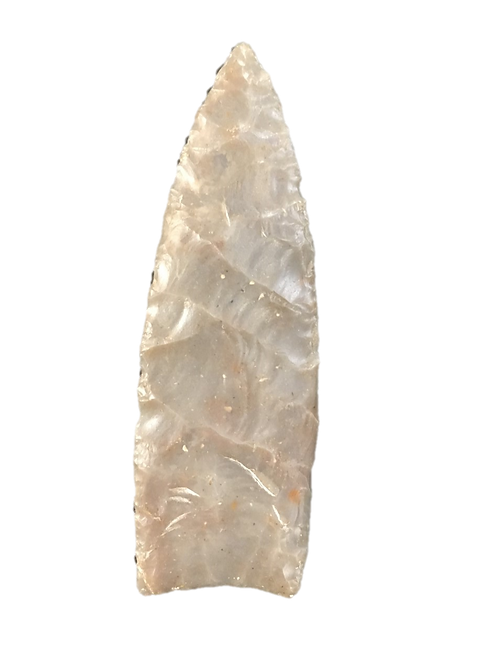 Photo of a Clovis point from Blackwater Draw