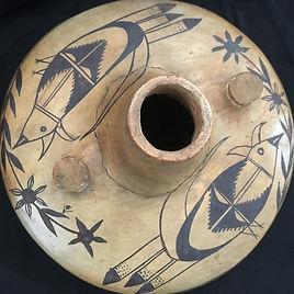 Hopi spouted jar, Historic age