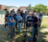 ENMU faculty Jim Constantopoulos teaches GPR to students