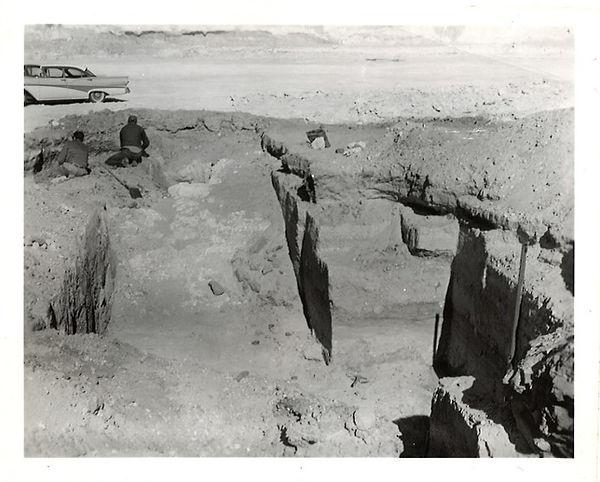 February 11, 1964 site photograph
