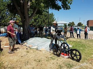 Students learn about GPR