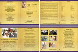 Pastor appreciation Brochure