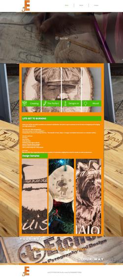 JC Etcher  Website Design
