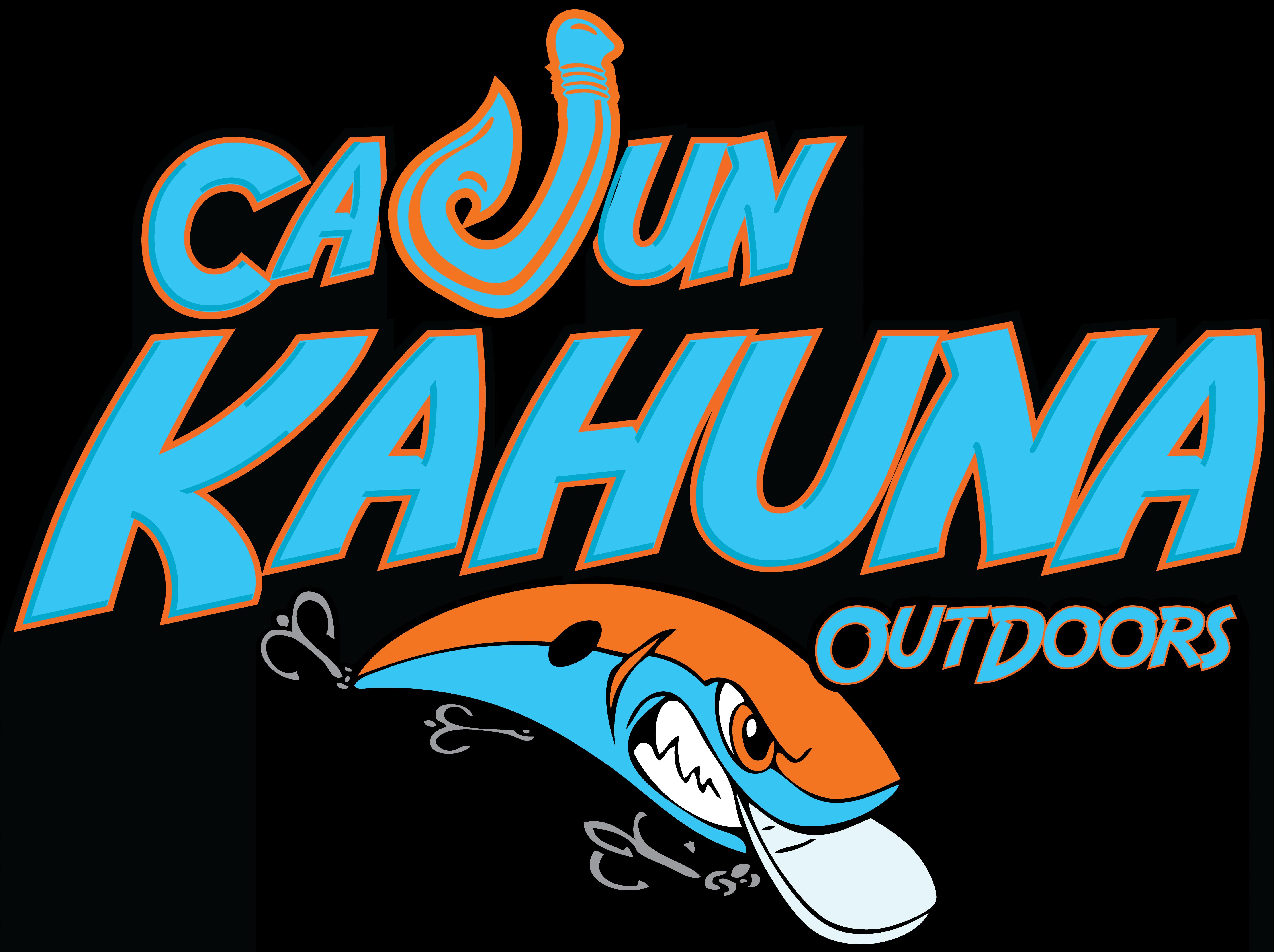 Cajun Kahuna Fishing Logo