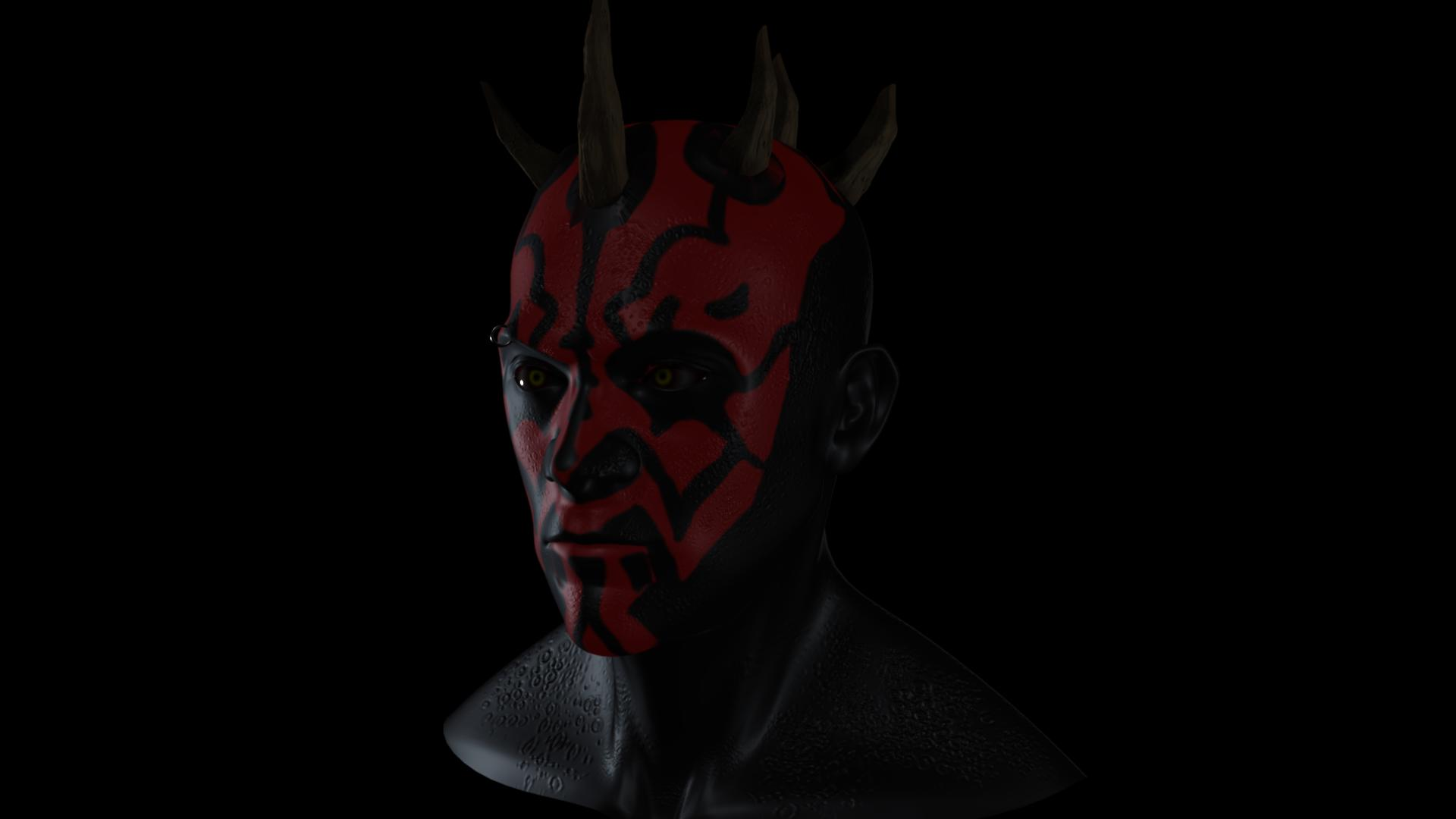 Star Wars Darth Maul Sculpt