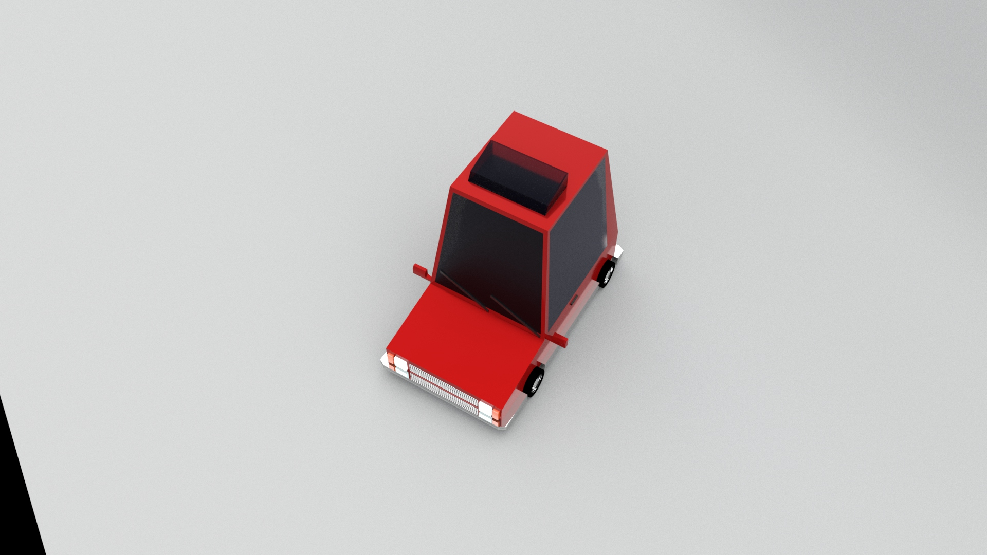 Low Poly Car2