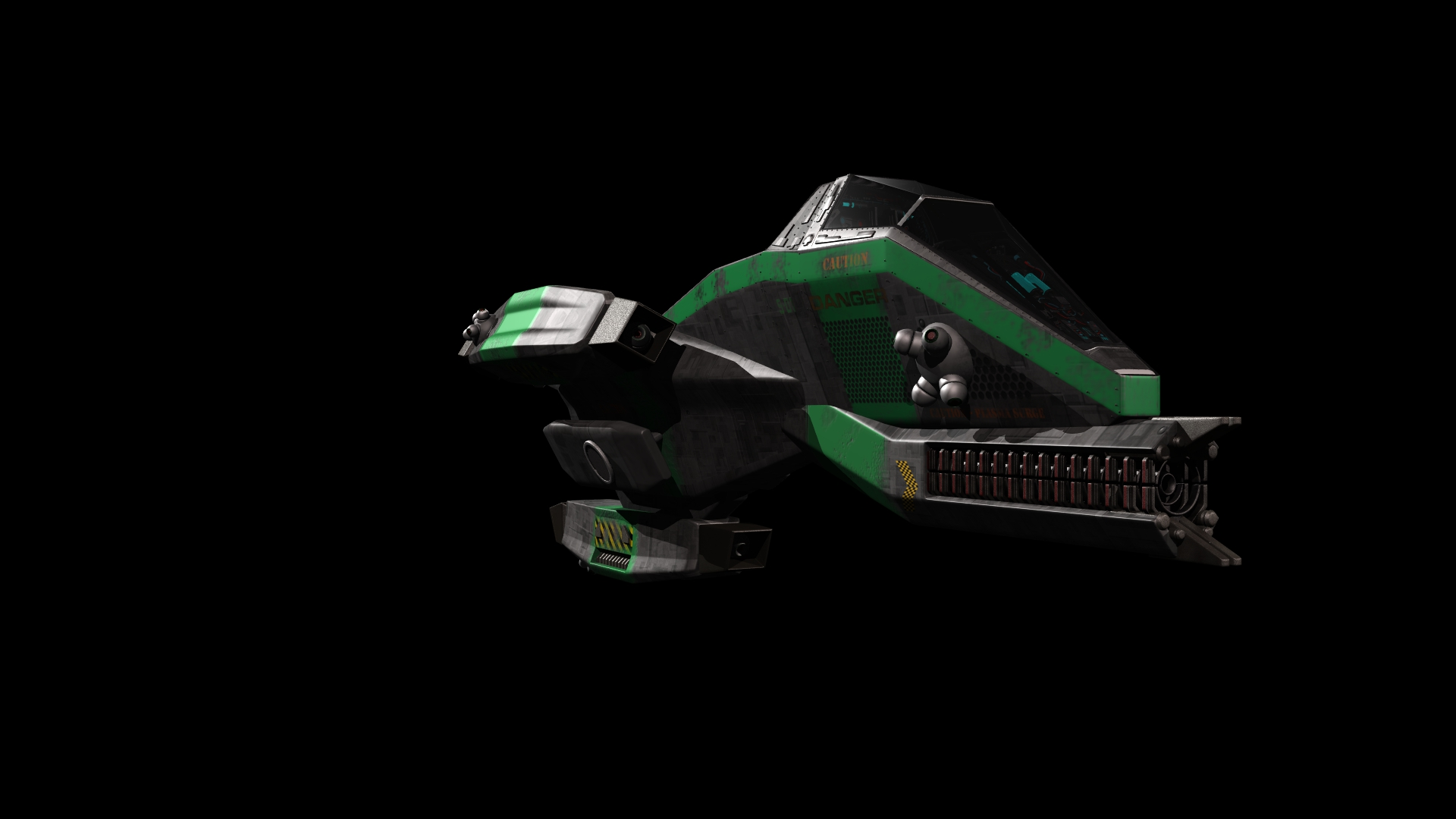 RazorBack Ship