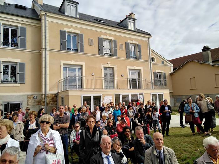Inauguration des maisons partagées Simon de Cyrène à Rungis
