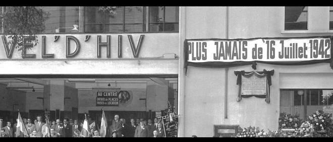 Commémoration de la rafle du Vél' d'Hiv à Chevilly-Larue