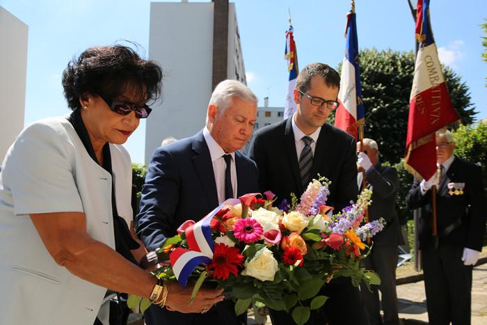 Commémoration de l'appel du Général de Gaulle à Thiais