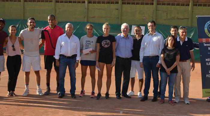 Finale de l'open au Tennis Club Belle Epine