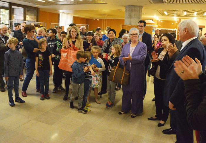 Vernissage de l'exposition des ateliers d'art d'Isabelle Rivagorda