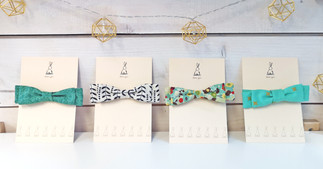 Adjustable Cotton Bow Ties