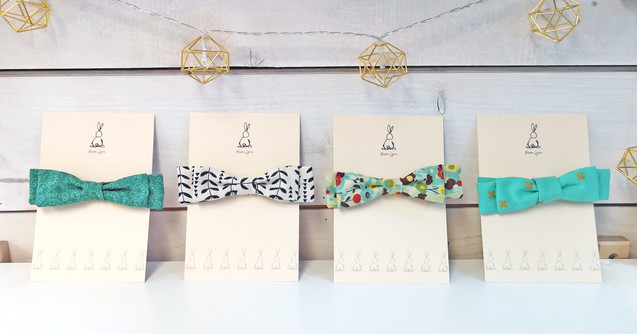 Adjustable Cotton Bow Ties