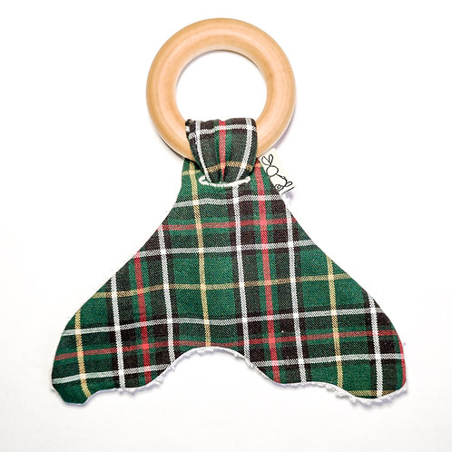Teething Ring - Newfoundland Tartan