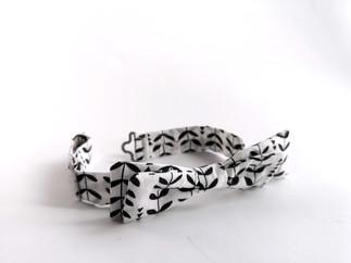 Adjustable Cotton Bow Tie
