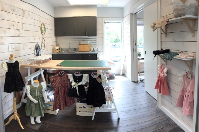 Studio, QVVP, Quidi Vidi Plantation, Children's clothing.
