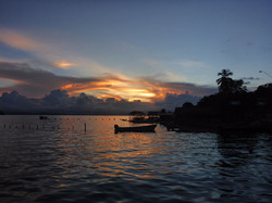 sunset at El Jaguar