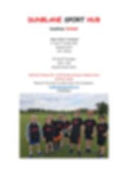Dunblane Sport Hub-Cricket Winter Tourna