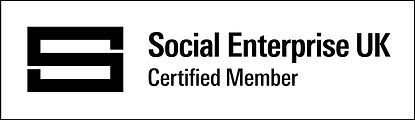 Certified Social Enterprise Badge - Blac